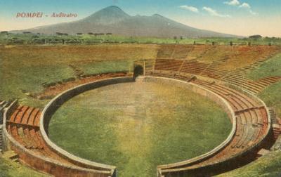 Amphitheatre, Pompeii, Italy