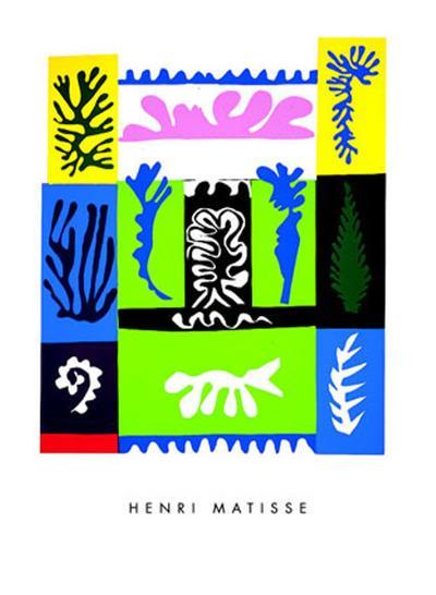 Amphitrite, c.1947-Henri Matisse-Serigraph