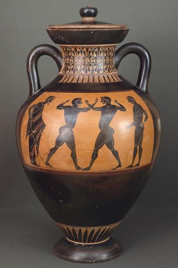 Amphora. Black-Figure Pottery from Vulci--Giclee Print