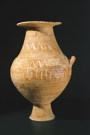 Amphora Decorated in Geometric Patterns, from Trevignano Romano, Lazio, Italy--Giclee Print