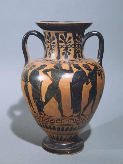 Amphora Showing Dance of Dionysus--Giclee Print