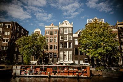 Amsterdam Canal Houses I-Erin Berzel-Photographic Print