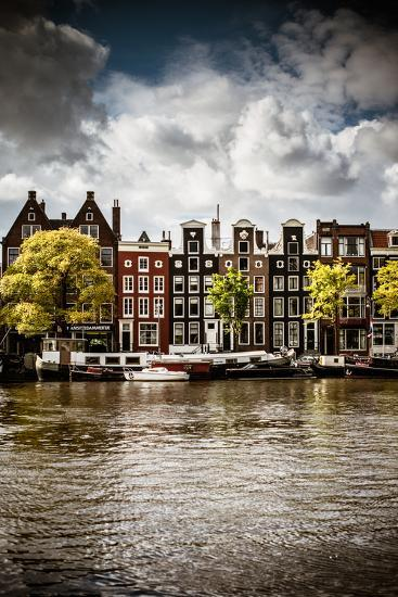 Amsterdam Canal I-Erin Berzel-Photographic Print