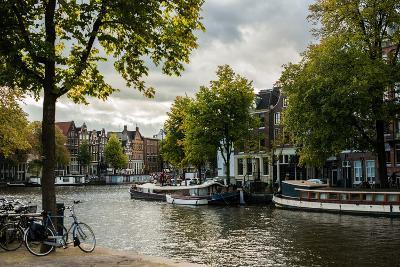 Amsterdam Canal III-Erin Berzel-Photographic Print