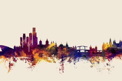 Amsterdam The Netherlands Skyline-Michael Tompsett-Art Print