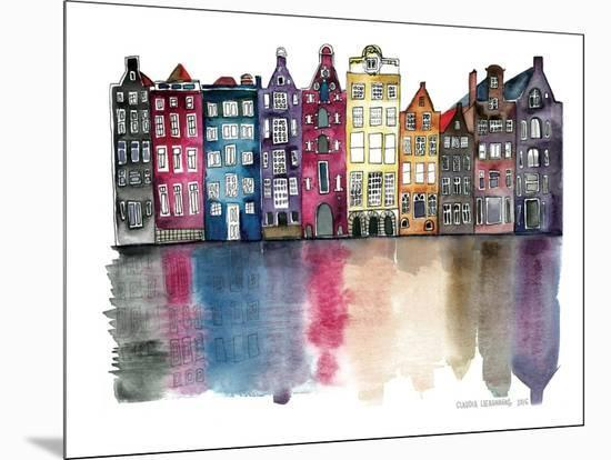 Amsterdam--Mounted Giclee Print