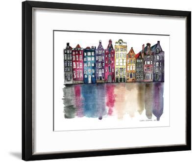 Amsterdam-Claudia Libenberg-Framed Art Print