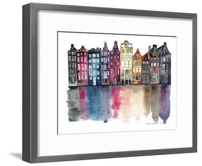 Amsterdam--Framed Art Print