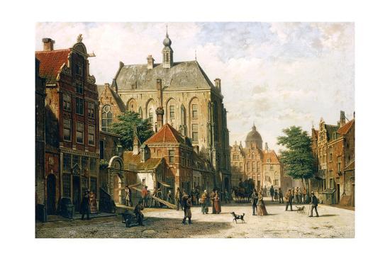 Amsterdam-Willem Koekkoek-Giclee Print