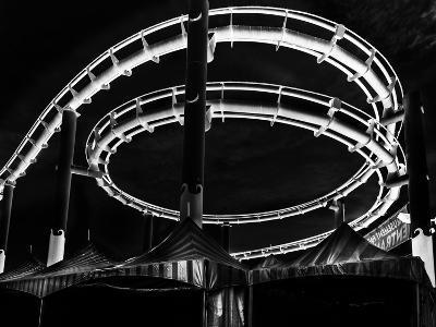 Amusement Park after Dark-Jason Moskowitz-Photographic Print