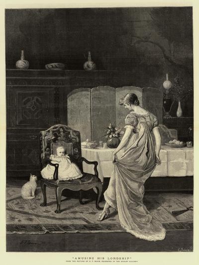 Amusing His Lordship--Giclee Print
