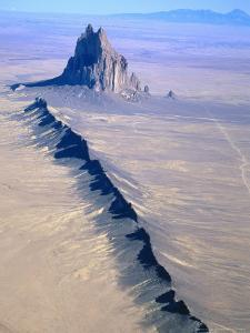 Shiprock, Northwest New Mexico by Amy And Chuck Wiley/wales