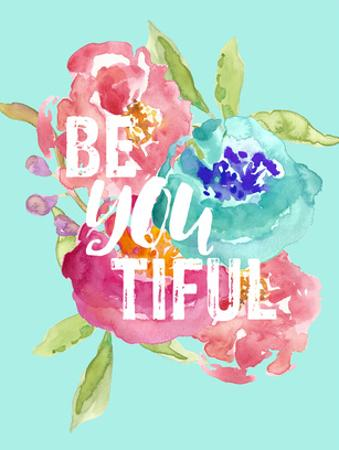 Beyoutiful Floral by Amy Brinkman