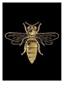 Bumblebee Golden Black by Amy Brinkman