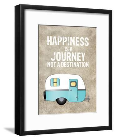 Camper Happiness Is Journey