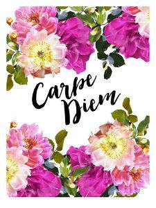 Carpe Diem-Floral by Amy Brinkman