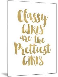Classy Girls Gold White by Amy Brinkman