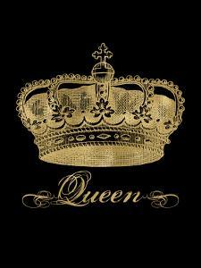 Crown Queen Golden Black by Amy Brinkman
