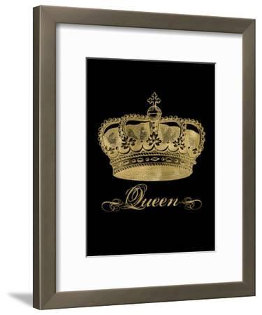 Crown Queen Golden Black