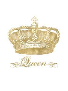 Crown Queen Golden White by Amy Brinkman