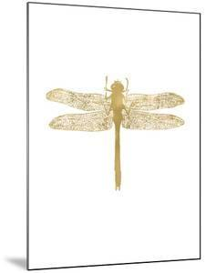 Dragonfly Golden White by Amy Brinkman