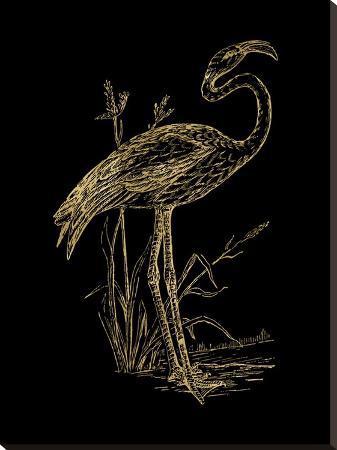 amy-brinkman-flamingo-2-golden-black