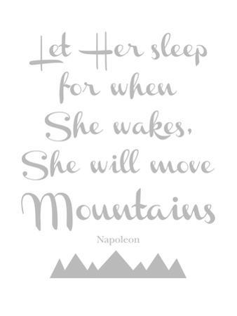 Let Her Sleep Mountains Gray by Amy Brinkman