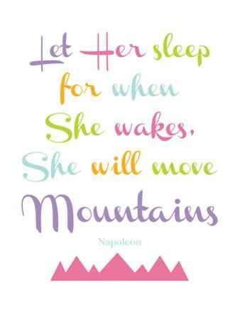 Let Her Sleep Mountains Multi by Amy Brinkman