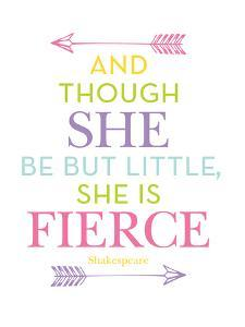 She Is Fierce Multi by Amy Brinkman