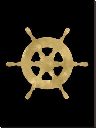 amy-brinkman-ship-wheel-golden-black