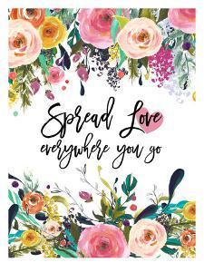 Spread Love Everywhere by Amy Brinkman
