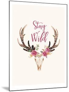Stay Wild Skull Cream by Amy Brinkman