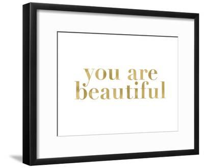 You Are Beautiful Golden White