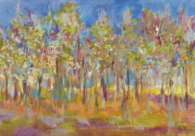 Orchard in Orchid by Amy Dixon