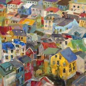 Reykjavik Rooftops by Amy Dixon