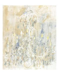 Shades of White Chandelier by Amy Dixon