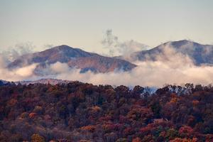 Clouds Rising Up from the Valleys by Amy White and Al Petteway