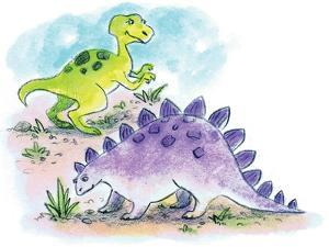 Dinosaurs - Humpty Dumpty by Amy Wummer