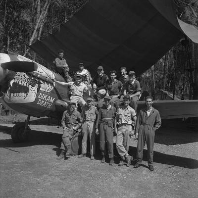 An 88th Flight Squadron Crew on the Ledo Road, Burma, 1944-Bernard Hoffman-Photographic Print