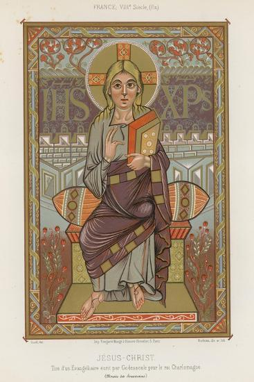 An 8th-Century Depiction of Jesus Christ--Giclee Print