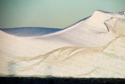 An Abstract View of an Iceberg-Tom Murphy-Photographic Print