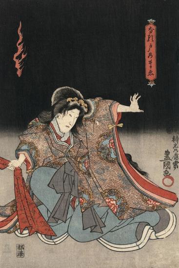 An Actor in the Role of Narutonomae-Utagawa Kunisada-Giclee Print