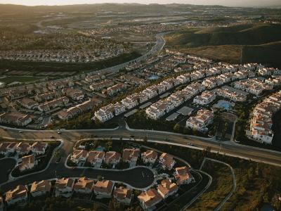 An Aerial View of a Housing Development in Orange County, California-Joel Sartore-Photographic Print