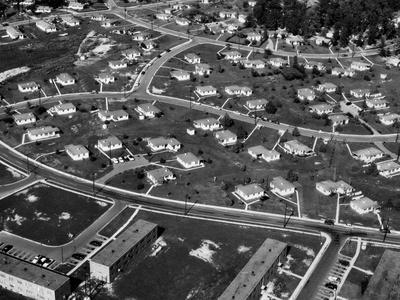 An Aerial View of Housing Development in Oak Ridge, Tennessee, 1955-Ed Westcott-Photo