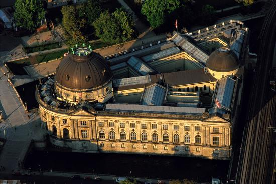 An Aerial View of the Bode Museum-Marcello Bertinetti-Photographic Print