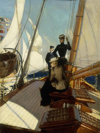 An Afternoon at Sea-Albert Lynch-Giclee Print