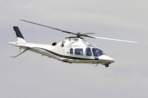 An Agusta Westland A109 Power Elite Helicopter