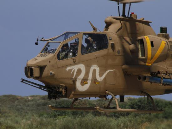 An AH-1S Tzefa Attack Helicopter of the Israeli Air Force-Stocktrek Images-Photographic Print