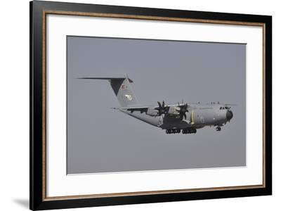 An Airbus A400M Atlas of the Turkish Air Force-Stocktrek Images-Framed Photographic Print