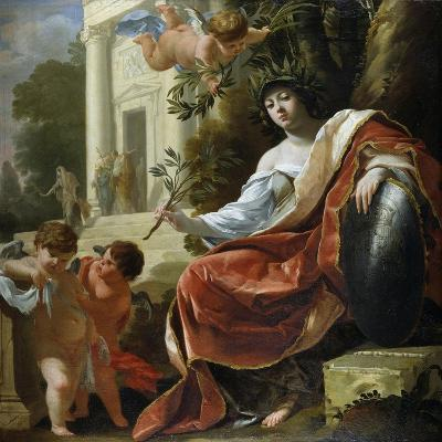 An Allegory of Peace-Simon Vouet-Giclee Print